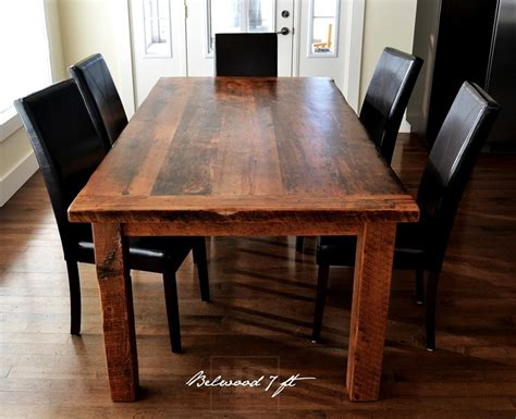 solid wood dining table toronto harvest table ontario harvest dining table reclaimed