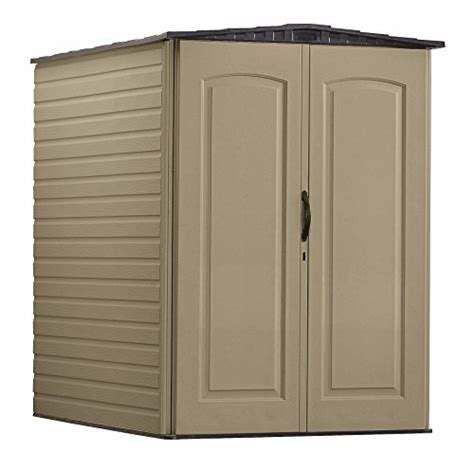 rubbermaid plastic large outdoor storage shed 159 cu ft