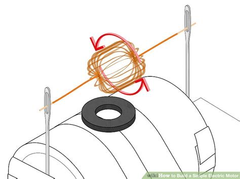 Build An Electric Motor by How To Build A Simple Electric Motor 10 Steps With Pictures