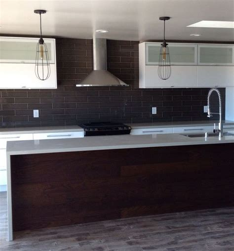 what is a backsplash in kitchen stikwood black cherry diy selves to try