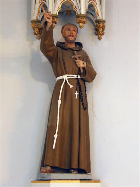 statue religieuse fran 231 ois d assise r 233 pertoire du patrimoine culturel du qu 233 bec