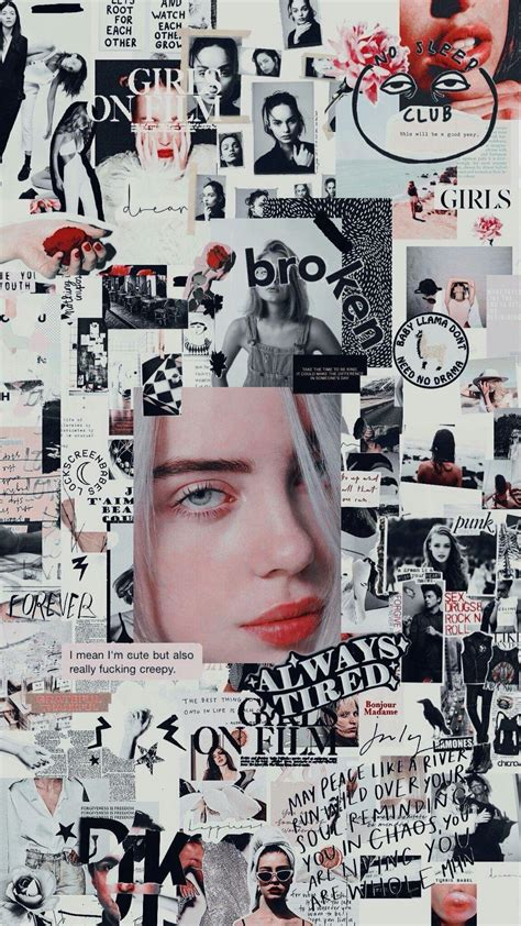 billie eilish pink aesthetic wallpapers wallpaper cave