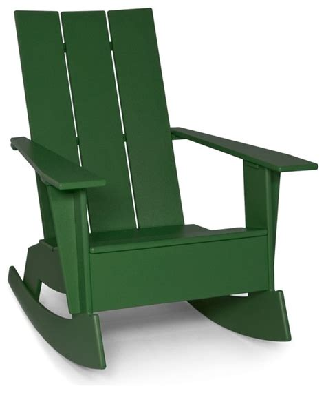 contemporary outdoor rocking chair adirondack rocker modern outdoor rocking chairs
