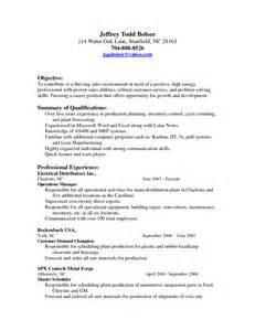 Master Operator Resume Exles by Resume Scheduler Sales Scheduler Lewesmr