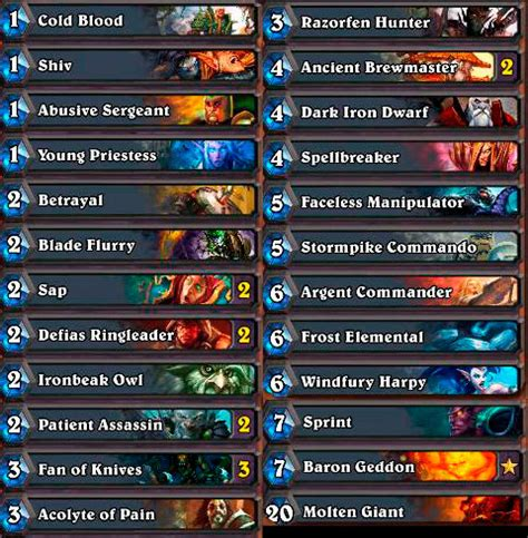 Hearthstone Starter Decks Rogue by Progression In An Age