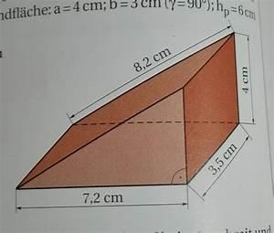 Pyramide Oberfläche Berechnen : volumen und oberfl chenberechnung eines holzkeils ~ Themetempest.com Abrechnung
