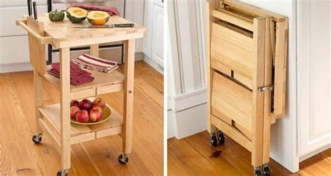 kitchen space savers 10 folding furniture designs great space savers and