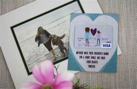 mothers day gift card holder  childs hand gcg
