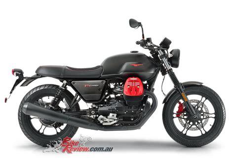 moto guzzi v7 iii moto guzzi unveils updates for 2018 models bike review
