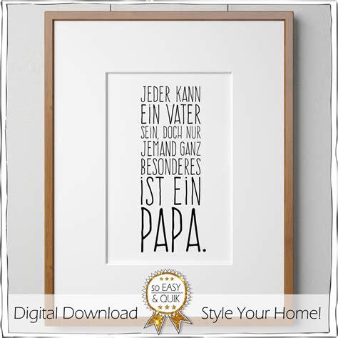 papa vater spruch printable mit geschenkanh 228 nger
