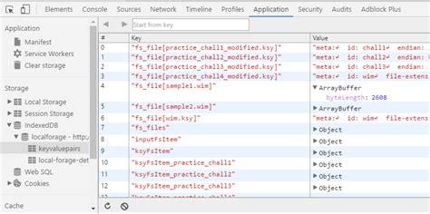 Google Chrome Windows Registry Database Parsing Stack