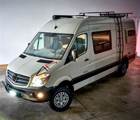 mercedes sprinter ext campervan body flares
