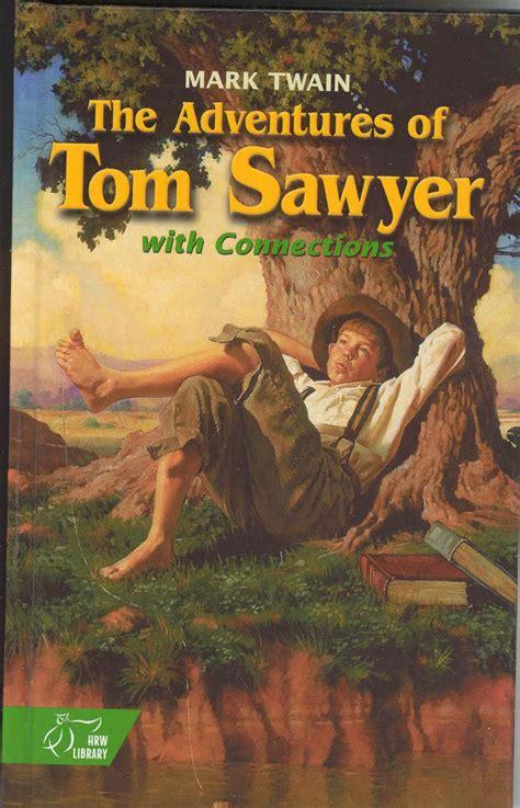 Hannah Is Reading Adventures Of Tom Sawyer Huckleberry