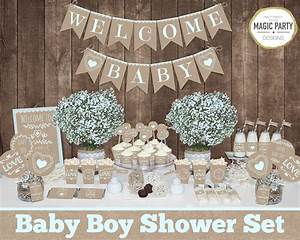 rustic baby shower decorations printable boy baby shower With rustic wedding shower decorations