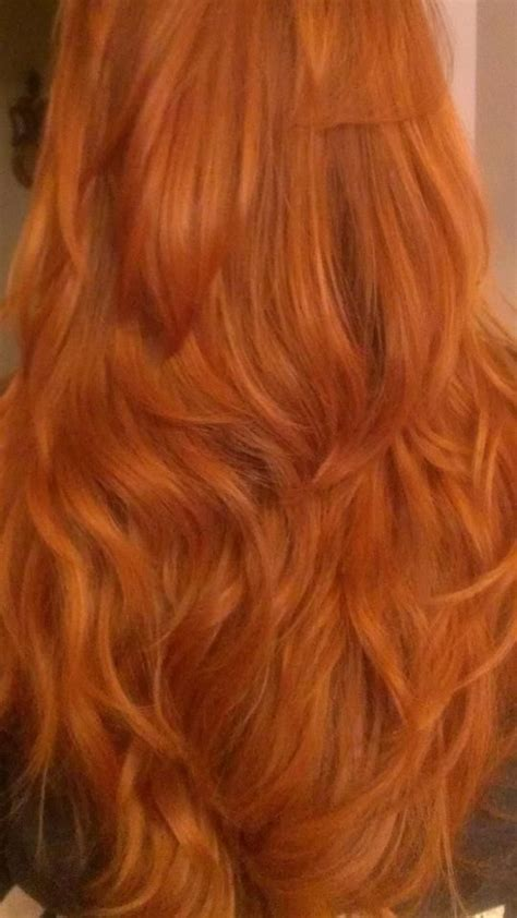My Hair After Using The Red Henna From Lush Kind Of Loved