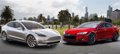 Download Tesla 3 Vs Used Tesla S PNG