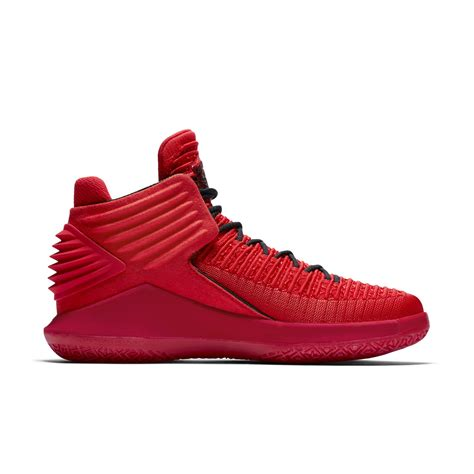 The Air Jordan 32 Rosso Corsa Leaks Ahead Of Unveiling