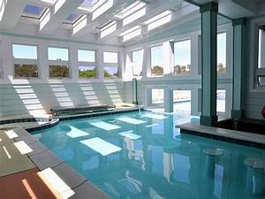Best 46 indoor swimming pool design ideas for your home for Interior design bedroom with pool