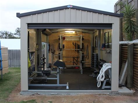 Outdoor Building Home Gym  Top 10 Awesome Weight Lifting