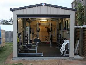 outdoor building home gym | Top 10 Awesome Weight Lifting ...