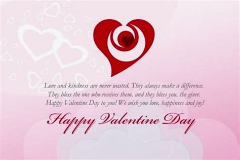 Happy Valentine's Day Card Sayings