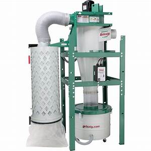 1-1/2 HP Cyclone Dust Collector | Grizzly Industrial