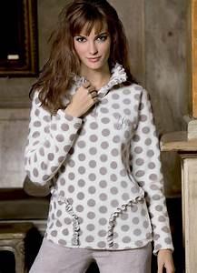 Tenue Interieur Femme Velours : 1000 id es propos de pyjama polaire femme sur pinterest ~ Teatrodelosmanantiales.com Idées de Décoration