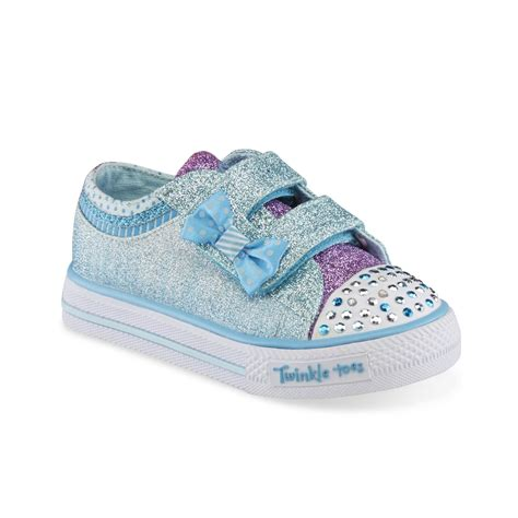 skechers light up shoes toddler skechers toddler s twinkle toes blue light up sneaker