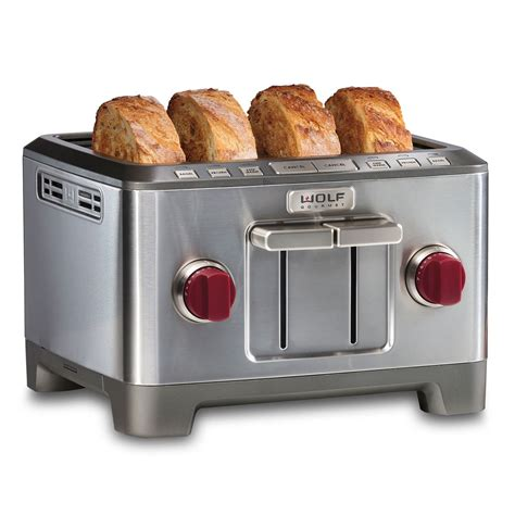 Four Slice Toaster  Wolf Gourmet  Countertop Appliances