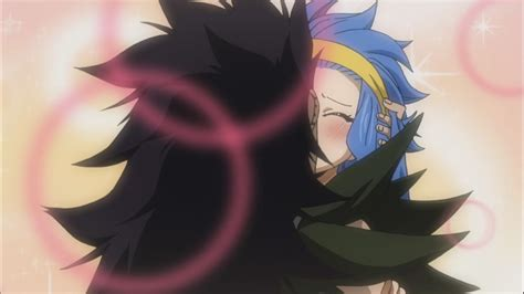 fairy tail anime gajeel gajeel and levy kissing daily anime art