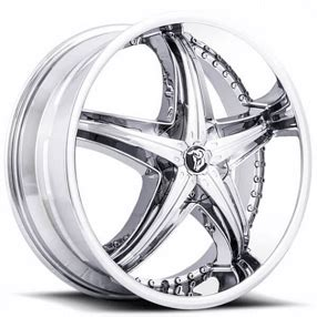 diablo wheels reflection  chrome rims db