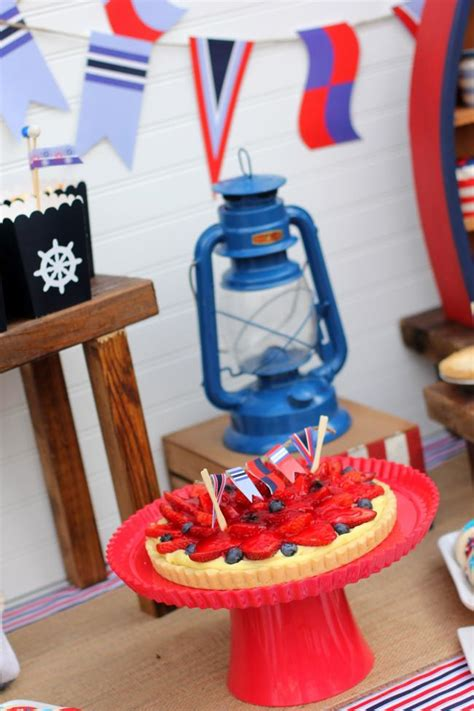 4th of july nautical dessert ahoy a nautical themed 4th of july party spaceships and laser beams