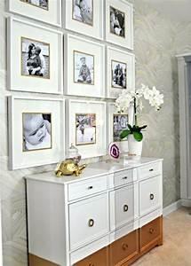 Wand Mit Fotos Dekorieren : fotowand selber machen 66 wundersch ne ideen und inspirationen ~ Markanthonyermac.com Haus und Dekorationen