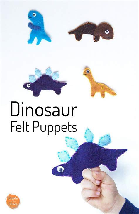 dinosaur felt puppets dinosaurs felt