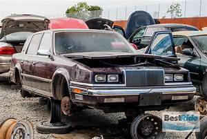 Junkyard Therapy  1989 Chrysler New Yorker Mark Cross