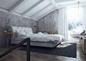 photo de chambre a coucher adulte 9 chambre grise With chambre a coucher grise