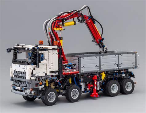 lego technic mercedes review 42043 mercedes arocs 3245 lego technic