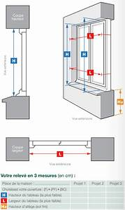 Dimensions Standard Fenetre : prendre les mesures d une fen tre neuf ou r novation ~ Melissatoandfro.com Idées de Décoration