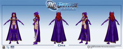 dc universe  character spotlight circe league