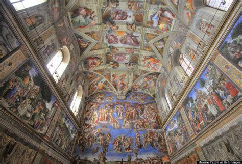 la chapelle sixtine plafond 23 merveilleuses photos de plafond d 233 glise jgalere