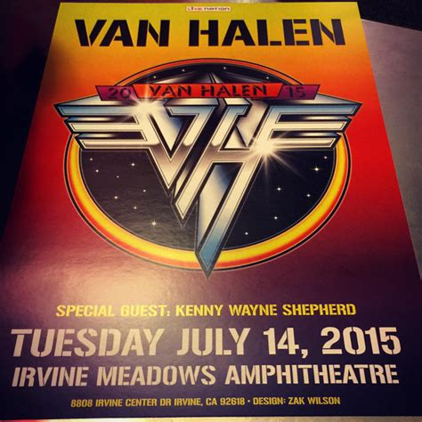 van halen put  grudges  put   great show irvine