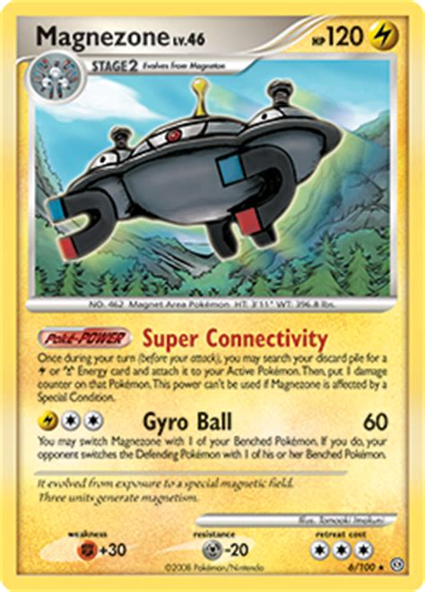 magnezone diamond pearlstormfront tcg card