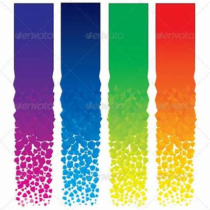 Vertical Banner Banners Vector Background Blank Template
