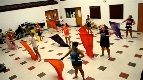 color guard routines color guard warm up routine