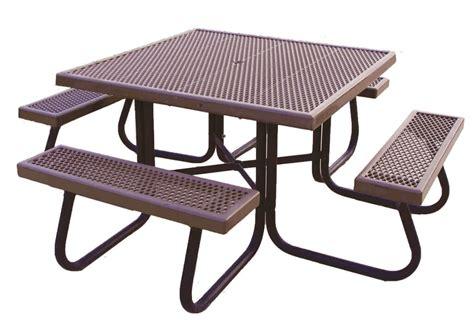 Elegant Galvanized Steel Coffee Table