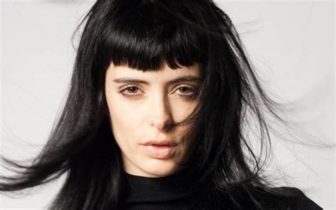Actresses With Black Hair by Krysten Ritter Black Hair