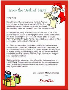 printable letter from santa and nice list certificate With certified letter from santa