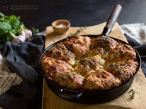 keto cheesy garlic pull  bread  ketodiet blog