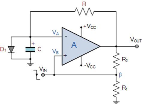 Amp Monostable The Circuit