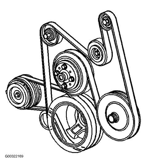 Show Diagram Serpentine Belt Has
